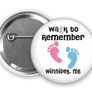 Walk to Remember Pin Back Badge